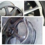 Как отремонтировать алюминиевые колеса с прозрачным покрытием