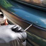 Как перекрасить ржавые бампера