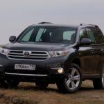 Как поменять антифриз на Toyota Highlander