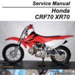 Как поменять масло в Honda CRF 70