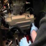 Как поменять масло в Honda Rancher
