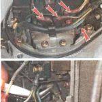 Как поменять ротор распределителя на Honda CRV