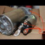 Как поменять стартер на 98 Chevrolet Prizm