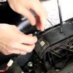 Как поменять свет переключения на консоли Toyota Camry