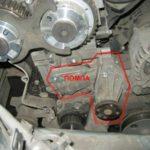 Как поменять водяной насос на Ford Focus