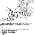 Как проверить и заменить цепь привода ГРМ в Ford Taurus