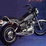 Как проверить уровень масла в Yamaha Virago 750?
