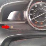 Как сбросить датчики шин Mazda
