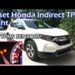 Как сбросить Honda TPMS