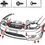 Как снять фару с Hyundai 2007