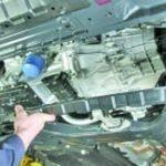 Как снять механическую коробку передач