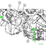 Как снять стартер в Chrysler 300M