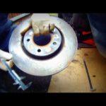 Как снять тормозные роторы с Dodge RAM