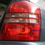 Как снять задний фонарь на Toyota Highlander