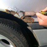 Как удалить кофе из автомобильной краски