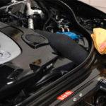 Как удалить остатки моторного масла