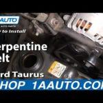 Как установить Змеиный пояс для Ford Taurus 2003 года