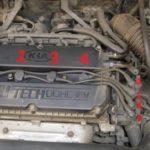 Как выполнить тест на сжатие двигателя в Kia Spectra