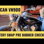 Как заменить аккумулятор на мотоцикле Vulcan
