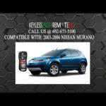 Как заменить аккумулятор Nissan Murano без ключа