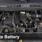 Как заменить аккумулятор в Ford Freestar