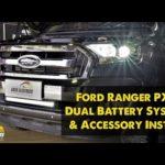 Как заменить аккумулятор в Ford Ranger