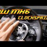 Как заменить Clockspring в VW Jetta
