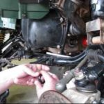 Как заменить масло на Kawasaki KZ750
