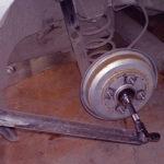 Как заменить подшипники колеса на Ford F-150