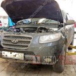 Как заменить прокладку крышки клапана в Hyundai Santa Fe
