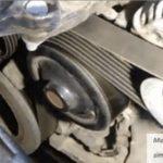Как заменить ремень генератора переменного тока на Toyota Celica
