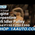 Как заменить серпантиновый ремень Ford E350