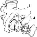 Как заменить термостат в Ford Escort 1998 года