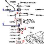 Как заменить топливный фильтр на Toyota Camry 2000 года