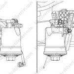 Как заменить топливный фильтр в Chevy Malibu