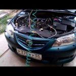 Как заменить топливный инжектор в Mazda6