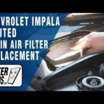 Как заменить воздушный фильтр в шевроле импала