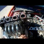 Как заменить выпускной коллектор в Mazda6