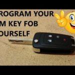 Как запрограммировать ключ FOB для Chevy