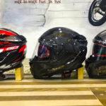 Различия в карбоновых и стеклопластиковых шлемах
