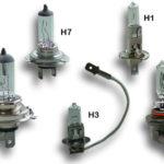 Разница между лампами накаливания фар H1 и H4