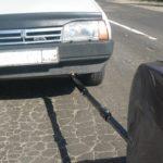 Самый безопасный способ буксировки автомобиля с другим автомобилем