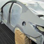 Шаги к подготовке автомобиля к покраске