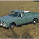 Технические характеристики Chevrolet Pickup с 1967 по 1972 годы