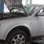 Устранение проблем перегрева Audi