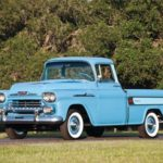 1958-1959 Chevrolet Pickup Технические характеристики
