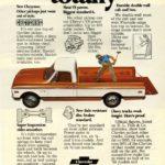1971 Chevrolet Truck Specs