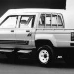 1985 Toyota Pick-Up Технические характеристики