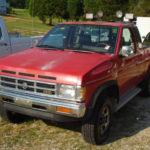 1993 Nissan D21 Pickup 2.4L Технические характеристики