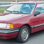 1994 Ford Tempo Fluid Технические характеристики